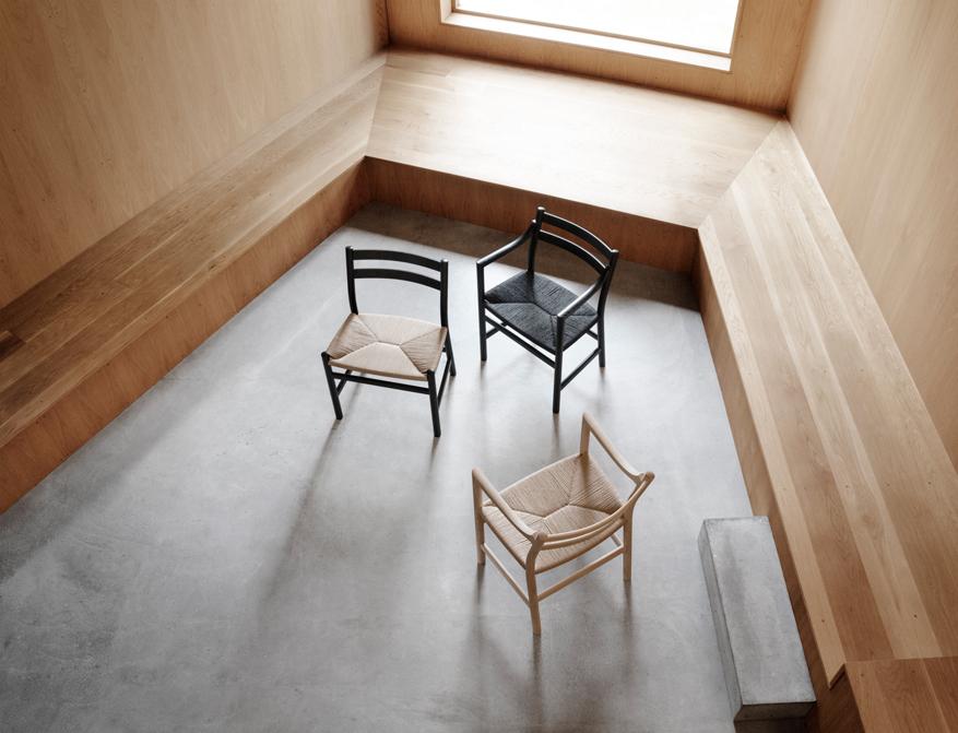 Die Stühle CH46 und CH47 in diversen Ausführungen von Hans Wegner