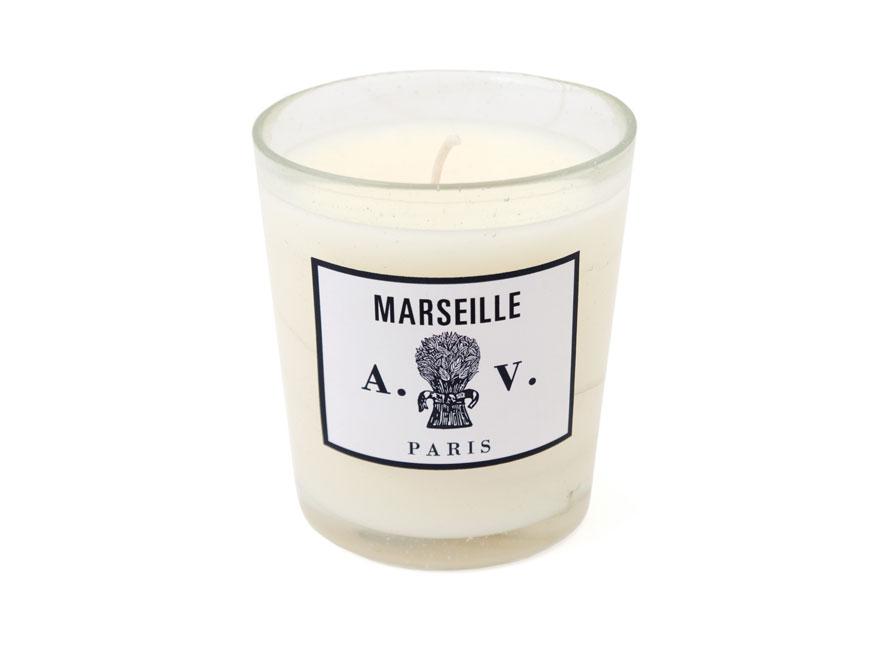 Die Duftkerze Marseille von Astier de Villatte im Glas