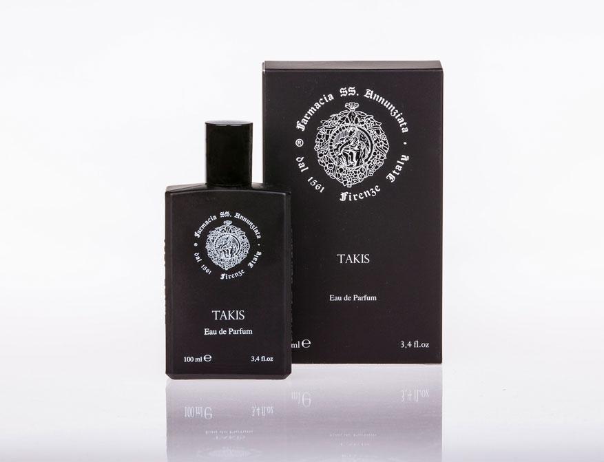Das Eau de Parfum Takis aus dem Haus Farmacia SS. Annunziata in Florenz