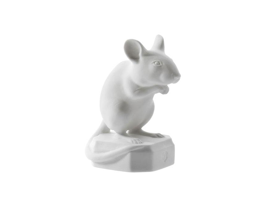 Maus Karl in Ausführung Biskuitporzellan weiß von Porzellan Manufaktur Nymphenburg