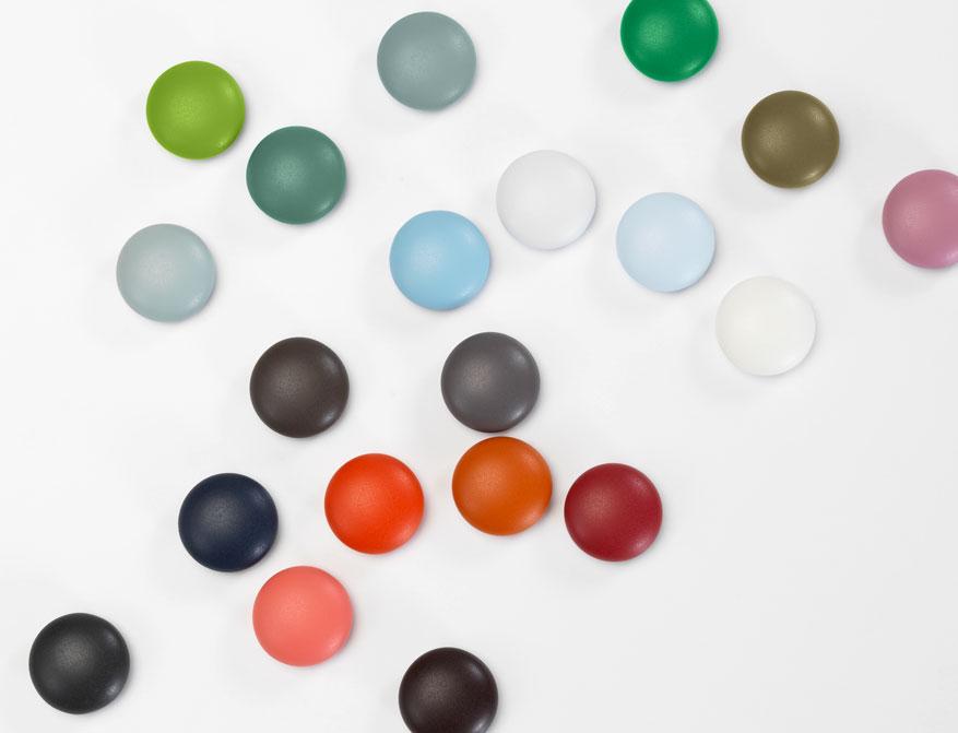 Magnet Dots in verschiedenen Farben von Hella Jongerius by Vitra