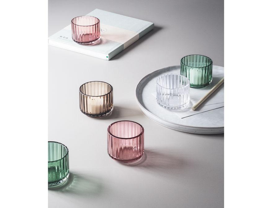 Teelichter in verschiedenen Farben von Lyngby