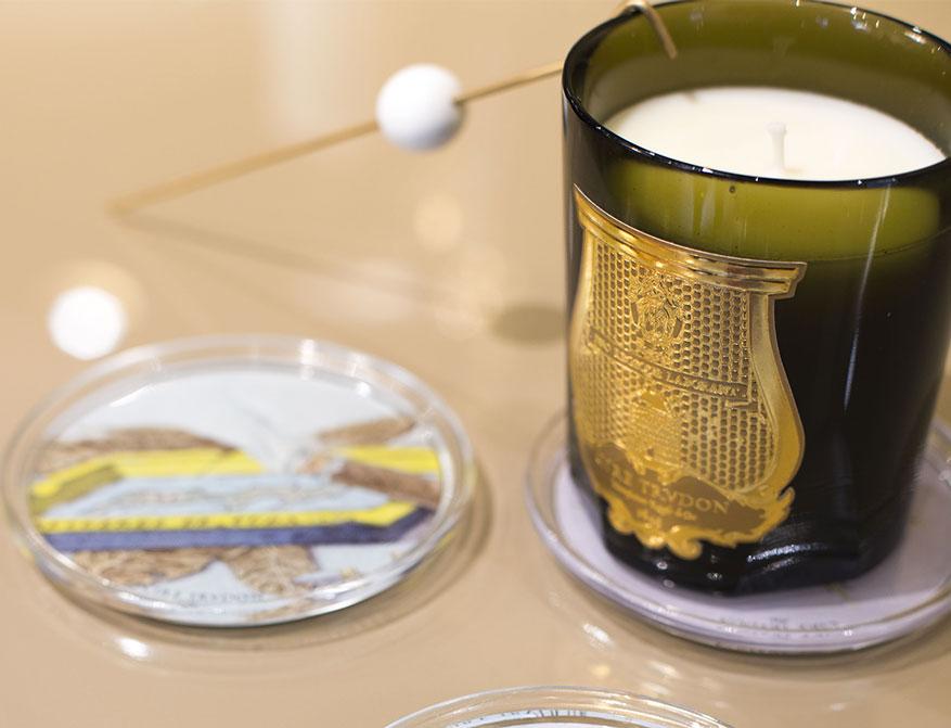 Die Duftkerze im Glas von Cire Trudon