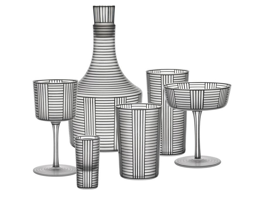 Trinkservice Serie B von Josef Hoffmann hergestellt von Lobmeyr in Wien