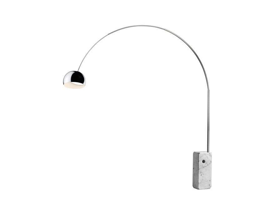 Die LED Stehleuchte Arco von Flos